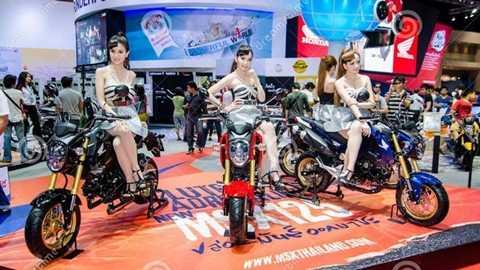 Triển lãm mô tô xe máy Việt Nam lần đầu được tổ chức vào đầu tháng 4/2016