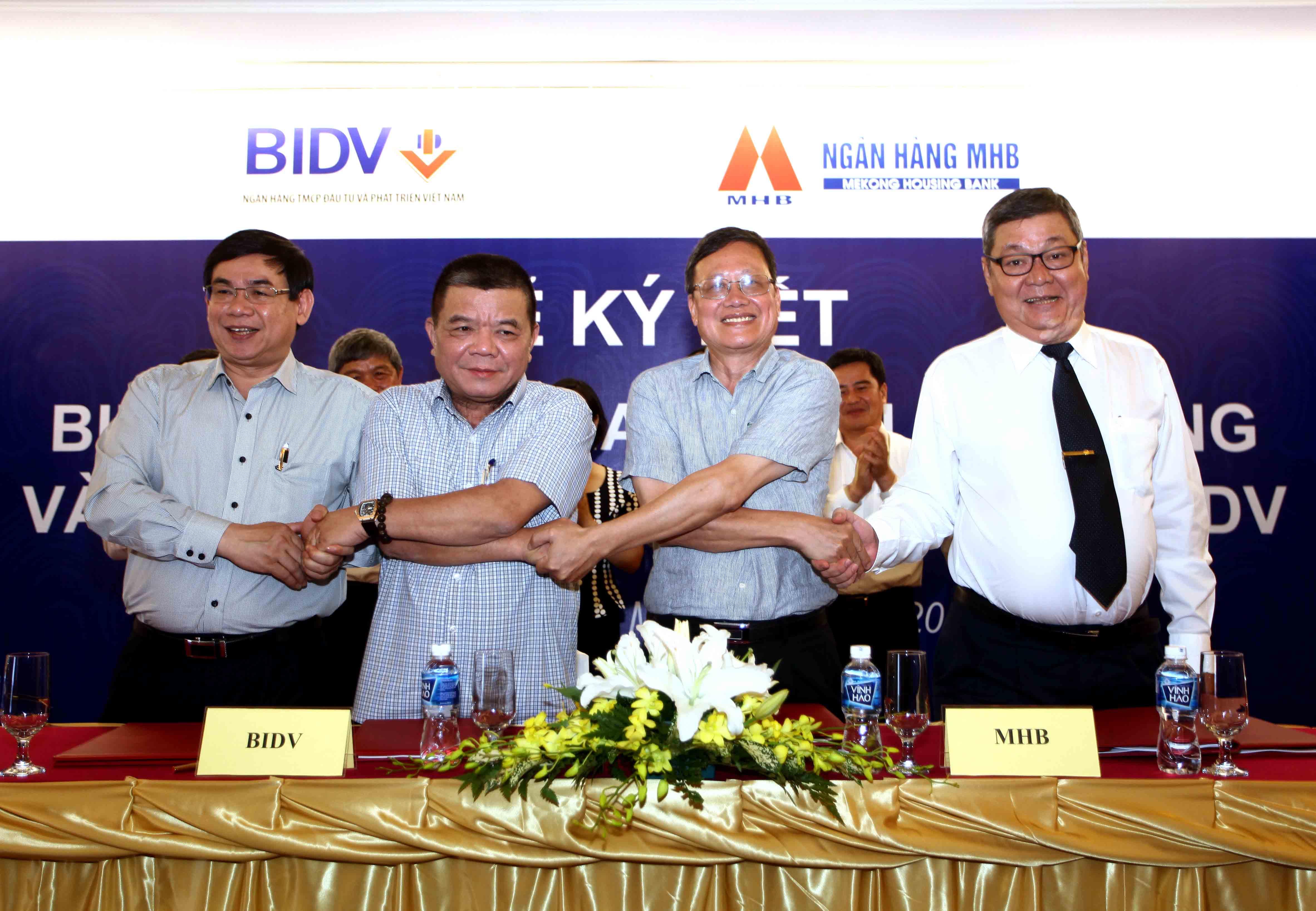 BIDV sáp nhập thành công MHB vào tháng 5 năm 2015