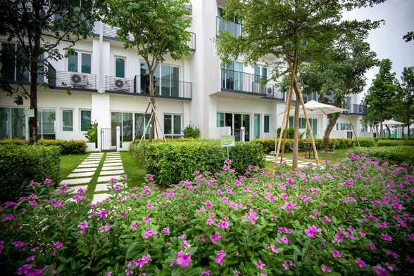 Các ngôi nhà tại ParkCity Hanoi đều hướng ra công viên