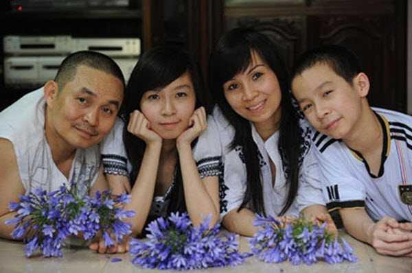 Gia đình nhỏ của Xuân Hinh