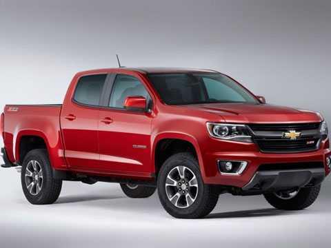 2. Chevrolet Colorado (giá: 20.120 USD - tương đương 453,04 triệu đồng).