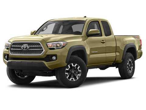 4. Toyota Tacoma (giá: 20.965 USD - tương đương 472,07 triệu đồng).