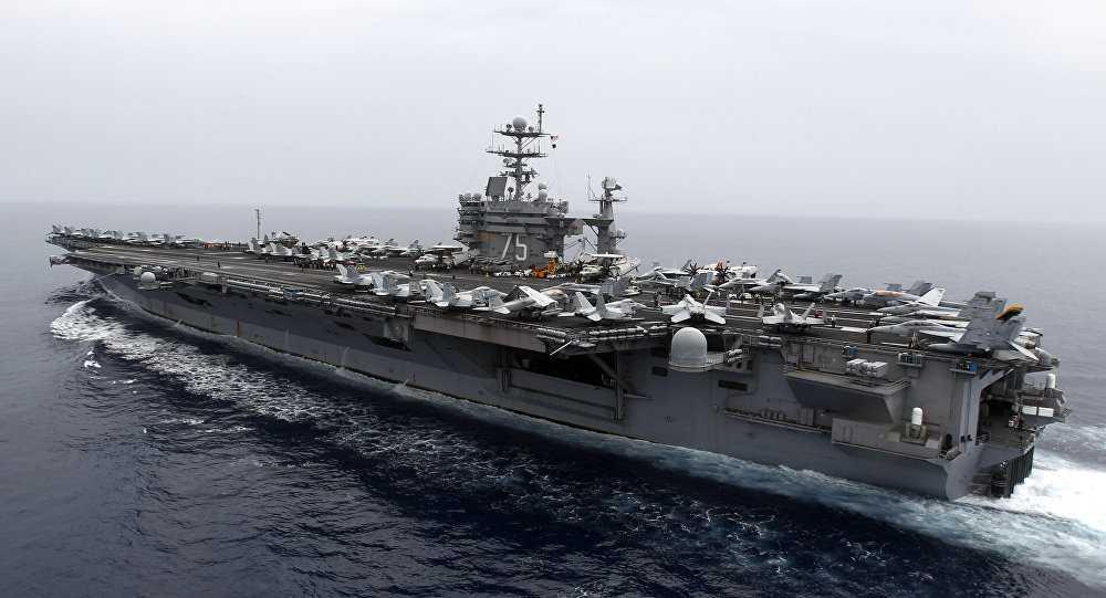 Tàu sân bay USS Harry S. Truman của Hải quân Mỹ