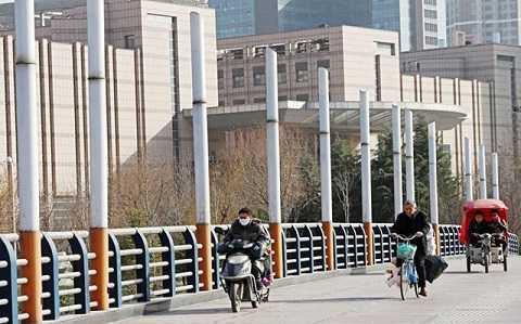 Cây cầu với thiết kế cực độc ở Trịnh Châu