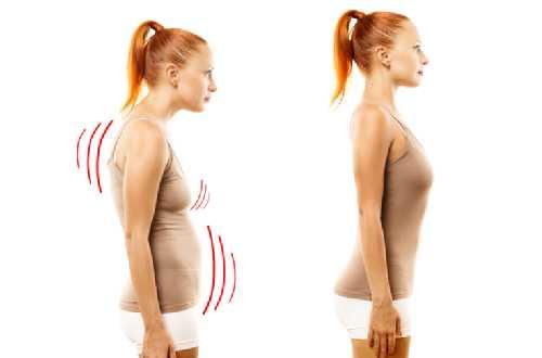 Lúc nào cũng nên giữ cho cột sống thẳng thóm.