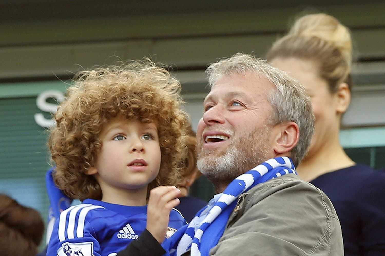 Roman Abramovich và con trai út.