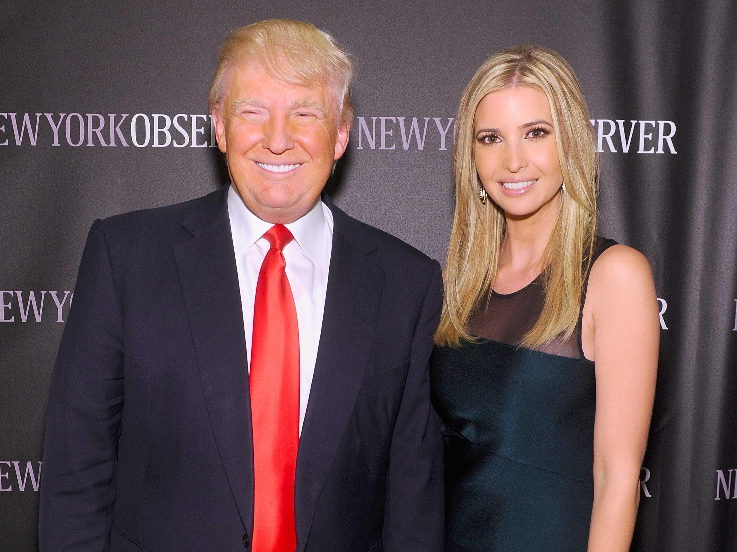 Cô con gái xinh đẹp và tài năng của Donald Trump.