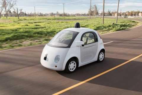 Mô hình thử nghiệm xe tự lái của Google