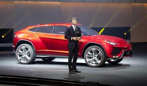 Lamborghini cũng khẳng định hãng sẽ trình làng mẫu Urus SUV