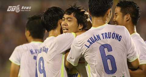 Công Phượng lập cú đúp ở chung kết U21 Quốc tế 2015 (Ảnh: Quang Minh)