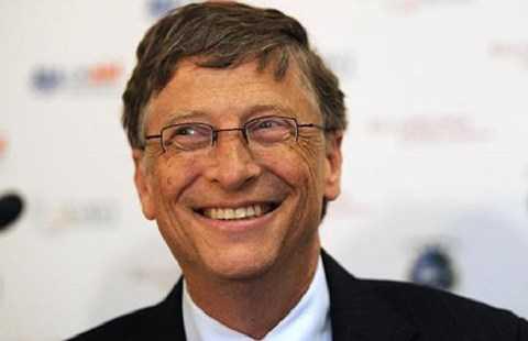 tỷ phú Bill Gates cho rằng thế giới 2015 có nhiều sự kiện tốt lành để khởi đầu năm 2016. Ảnh: USUNCUT.COM