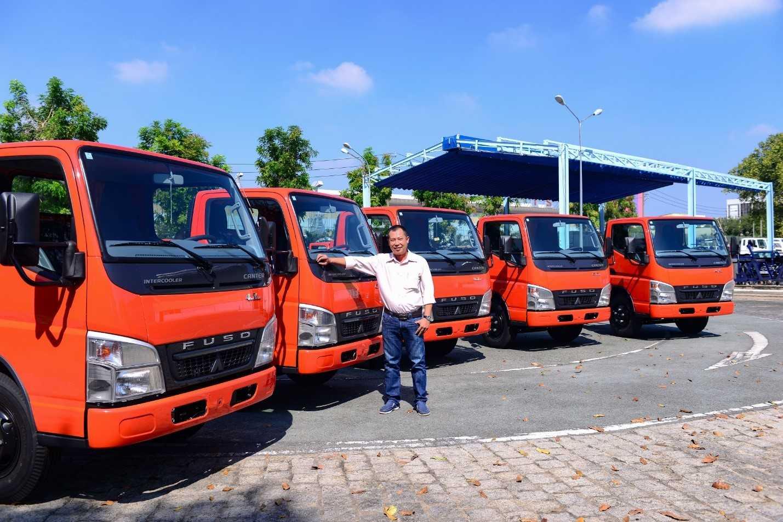 Ông Nguyễn Tấn Dũng – Giám đốc Công ty Nguyễn Ngọc tin tưởng vào chất lượng của thương hiệu xe tải FUSO đến từ Nhật Bản