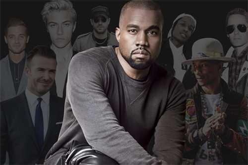 Kanye West là người đàn ông có phong cách thời trang sành điệu nhất năm nay