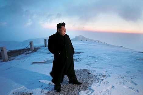 Ngắm nhìn bình minh trên đỉnh Paektu