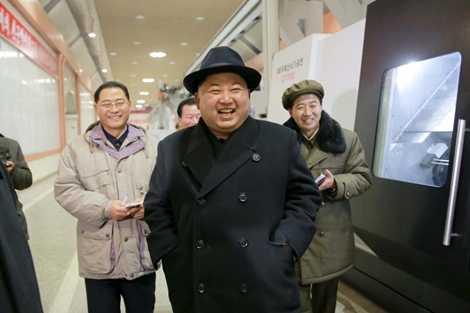 Lãnh đạo Triều Tiên thăm một nhà máy