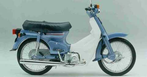 Honda Cub là mẫu xe có dung tích dưới 50cc tại Việt Nam.