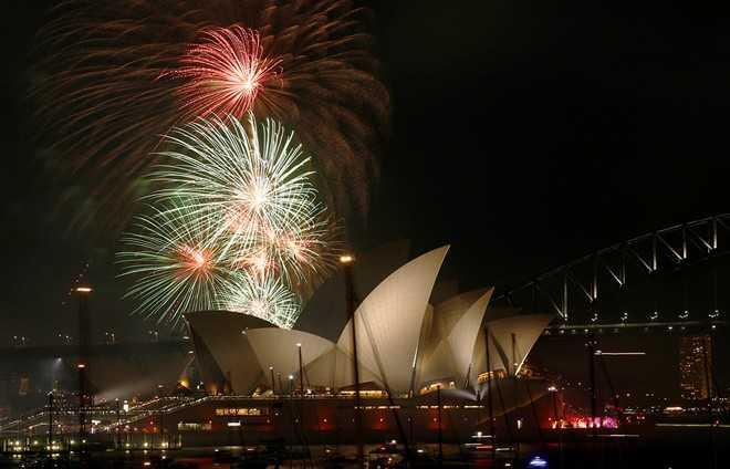 Pháo hoa đã được bắn lên ở Sydney