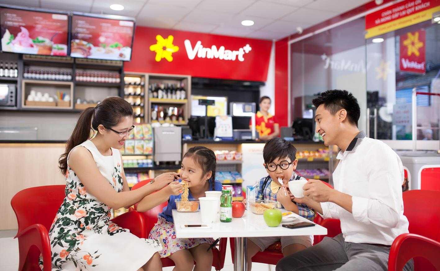 VinMart+ đa dạng tiện ích phục vụ nhu cầu của người dân