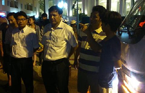 Ông Phạm Văn Nam trực tiếp chỉ đạo xử lý vụ tai nạn.