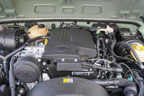 Bên dưới nắp capo là động cơ dầu 2.2 lít,   4 xy-lanh thẳng hàng, cho công suất tối đa 120 mã lực và mô-men xoắn   cực đại 360 Nm. Hai thông số trên đều đạt được ở vòng tua 2.000 v/ph. Đi   kèm hộp số sàn 6 cấp và hệ dẫn động 4 bánh (4WD).
