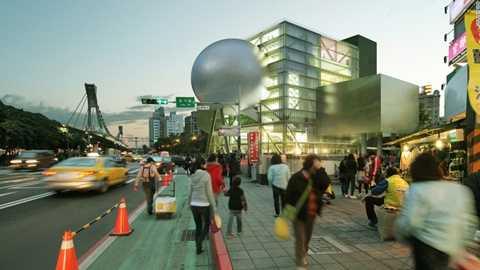 Trung tâm trình diễn nghệ thuật Đài Bắc – Đài Loan, Trung Quốc