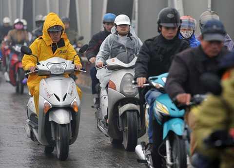 Thủ đô Hà Nội và nhiều địa phương tiếp tục có mưa rét - Ảnh minh họa