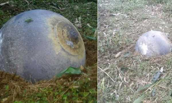 Phó chỉ huy trưởng, tham mưu trưởng Bộ chỉ huy quân sự tỉnh Tuyên Quang khẳng định quả cầu lạ không phải vật liệu nổ, bên trong rỗng và nặng 35 kg.