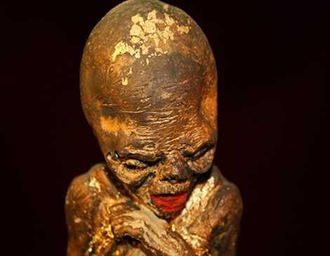 Một Kumanthoong từ bào thai.