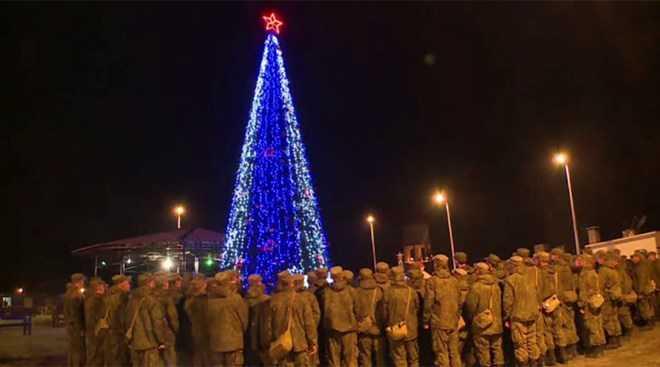 Binh sĩ Nga tại căn cứ không quân ở Syria
