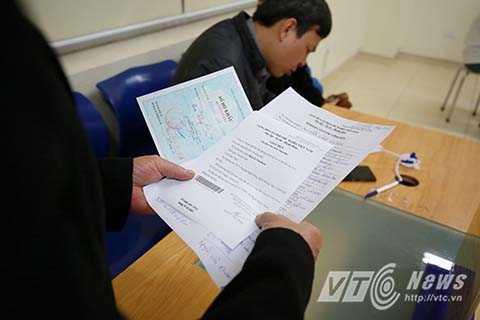 Sau khi đăng ký thông tin xong, người dân sẽ nhận được giấy hẹn. Việc cấp thẻ căn cước sẽ hoàn thành trong 7 ngày.