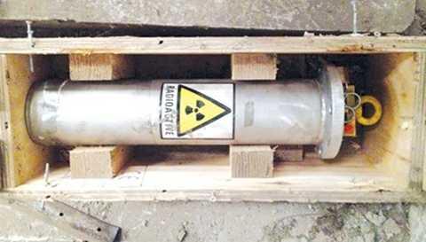 Thất lạc nguồn phóng xạ có thể gây nguy hiểm đối với sức khỏe con người