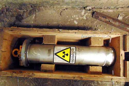 Nguồn phóng xạ thất lạc ở Bắc Kạn không có giá trị cao về kinh tế (ảnh minh họa)