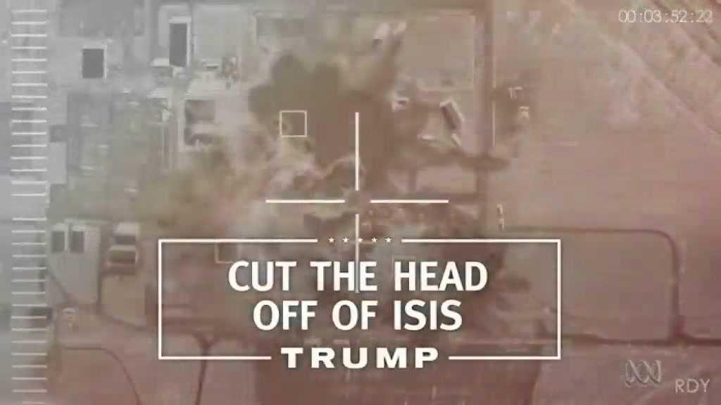Hình ảnh trong video quảng cáo mới của ông Donal Trump