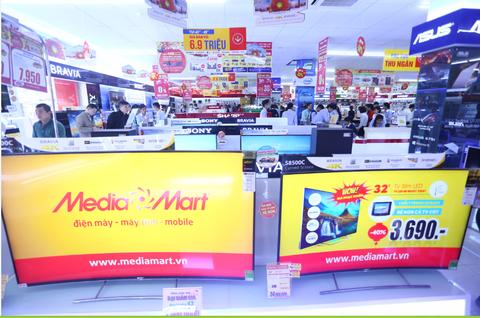 Được biết, chương trình khuyến mại mừng khai trương 2 siêu thị mới của MediaMart còn kéo dài từ nay đến cận tết Nguyên Đán