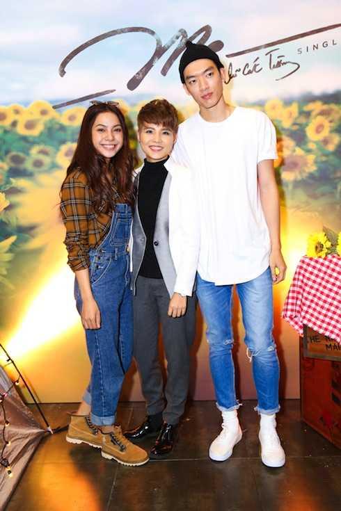 Tee La Ý Nhi và Brian Trần, hai nhân vật trong MV 'Mơ' của Vũ Cát Tường.