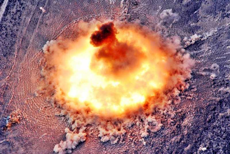 Ảnh minh họa về bom nhiệt hạch