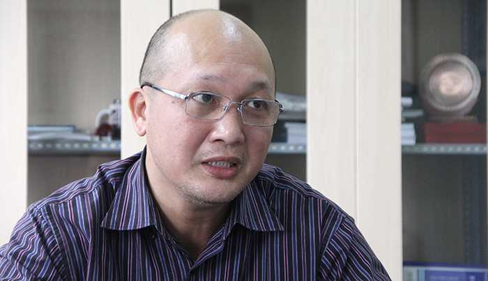 Ths. Vũ Việt Phương, Phó Giám đốc Trung tâm Vệ tinh Quốc gia – Viện Hàn lâm Khoa học và Công nghệ Việt Nam (Ảnh: Phạm Thịnh)