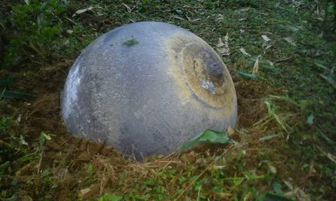 Vật thể hình cầu rơi xuống địa bàn Yên Bái, Tuyên Quang