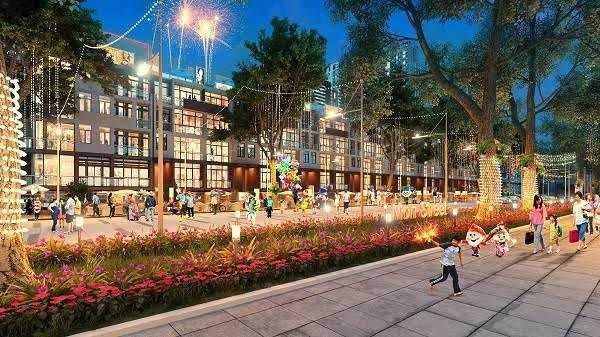 Phố thương mại Mon Street hội tụ nhiều giá trị gia tăng