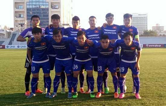 Đội hình xuất phát U23 Việt Nam trận gặp U23 Yemen