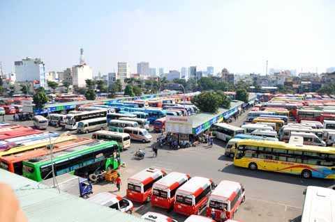 Lãnh đạo bến xe Miền Đông khẳng định sẽ không có việc người dân thiếu vé xe về quê trong dịp Tết.