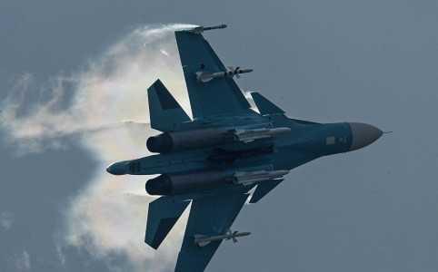 Một chiếc siêu chiến đấu cơ Su-34 của Nga