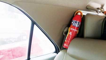 Nhiều ý kiến cho rằng, việc đặt bình cứu hỏa trên ô tô là không cần thiết, thậm chí bình này còn có nguy cơ phát nổ cao.