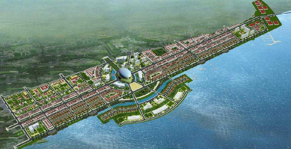 Hình ảnh một dự án nổi tiếng của Tập đoàn Phú Cường tại Kiên Giang