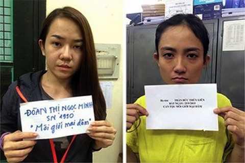 Các bị can tại cơ quan cảnh sát điều tra
