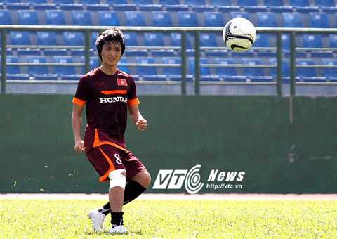 Tuấn Anh không phải là mẫu tiền vệ trung tâm ưa thích của HLV Miura