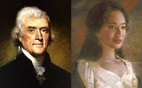 Thomas Jefferson và Sally Hemmings