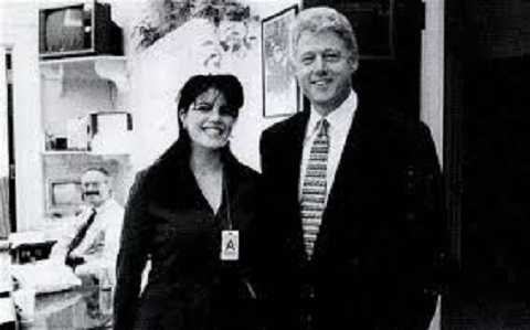 Cựu tổng thống Tổng thống Bill Clinton và Lewinsky