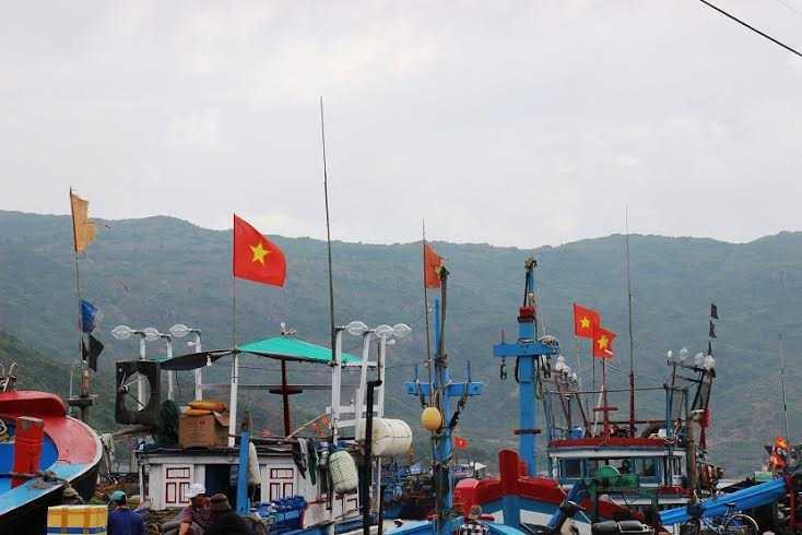 Thời gian qua, nhiều tàu cá của ngư dân Bình Định khi đang đánh bắt trên vùng biển Việt Nam đã bị tàu nước ngoài đâm (ảnh minh họa).