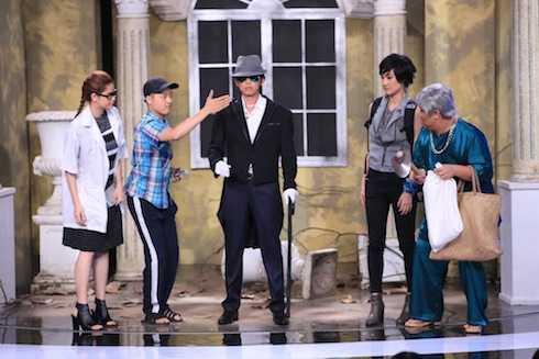 Các khách mời Thanh Duy Idol, Gia Bảo, Trương Quỳnh Anh và Kathy Uyên